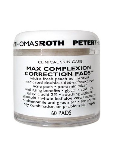 Peter Thomasroth PETER THOMAS ROTH Max Complexion Correction Pads 60 pads Renksiz